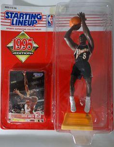 Nba Action Figures, Steve Smith, Atlanta Hawks, Childhood Days, Nba Basketball, Lineup, Baseball Cards, Toys, Sports