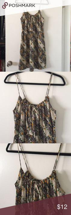 Billabong sundress Printed sundress with spaghetti straps. Size Lg. Billabong Dresses Mini