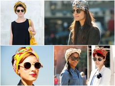 STYLE FILES Feeling the summer heat? This sun and humidity calls for a no-brainer way to keep your tresses in check. Turbans are a timeless and glamorous alternative to hair ties and donning them with a chic pair of sunglasses adds a little retro mystery. We love how these ladies doubled up their summer accessories and made beating the heat look chic. In need of a turban this summer? Check out our La Boheme Turbans
