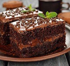 Tortas faciles y caseras: Torta de chocolate con dulce de leche