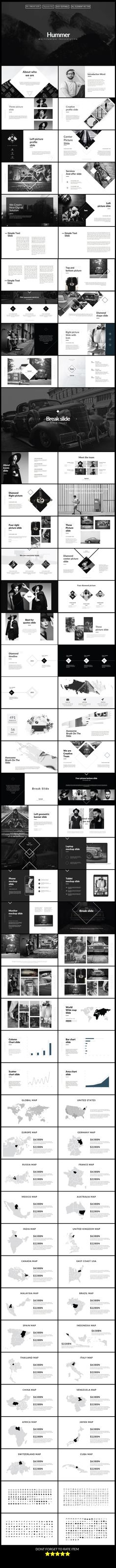 Hummer Multipurpose Keynote Presentation Template