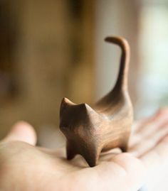 wooden cat ★ Learn about #cats