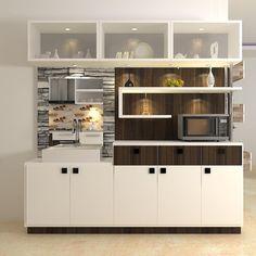 Trendy Kitchen Dining Room Divider Built Ins 25 Ideas Kitchen Modular, Modern Kitchen Cabinets, Kitchen Cabinet Design, Kitchen Interior, Kitchen Decor, Kitchen Designs, Kitchen Dining, Living Room Lighting Design, Pooja Room Design