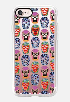 Casetify iPhone 7 Classic Grip Case - Lucha libre 2 by Edward Fielding #Casetify