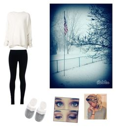 """Lazy snow day"" by lukelover99 ❤ liked on Polyvore featuring URBAN ZEN, NIKE, Victoria's Secret, women's clothing, women, female, woman, misses and juniors"
