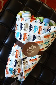 Beth and Co.: DIY Baby Clothes Bouquet