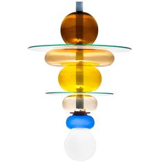 Ceiling Light 'Firenze' Designed by Ettore Sottsass Jr. Signed | From a unique collection of antique and modern chandeliers and pendants  at https://www.1stdibs.com/furniture/lighting/chandeliers-pendant-lights/