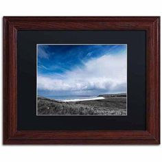 Trademark Fine Art Periphery Canvas Art by Philippe Sainte-Laudy, Black Matte, Wood Frame, Size: 16 x 20