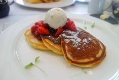 25 Places to Eat Nutella in London - DIY Nutella and Berry Pancakes, Christophers Covent Garden