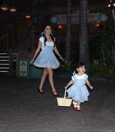 Homemade mommy and me costumes - mother daughter costume