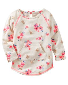 Baby Girl TLC Floral Raglan Tunic from OshKosh B'gosh. Shop clothing & accessories from a trusted name in kids, toddlers, and baby clothes.