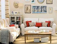 salones rectangulares decoracion - Buscar con Google