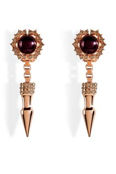Love an edgy earring (Mawi)