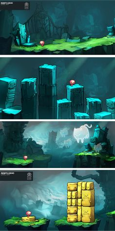 Rebirth background designs by *RobinKeijzer on deviantART