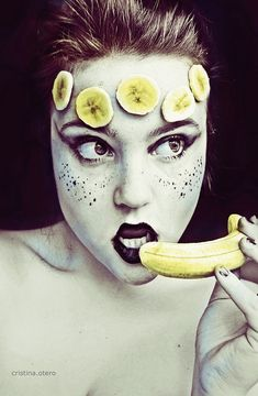 Fruity Self-Portraits by 16-Year-Old Cristina Otero | Bored Panda