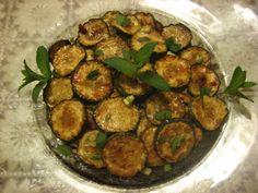 #Zucchini scapece. Flavorful Sicilian dish.