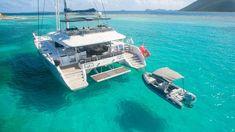 Charter Lagoon Catamaran Le Reve, sailing the Virgin Islands with a professional crew. All-inclusive Crewed Catamaran Charter Vacations. Catamaran Design, Catamaran Charter, Sailing Catamaran, Charter Boat, Ski Nautique, Sailing Cruises, Sea Dream, Sailing Holidays, Cool Boats