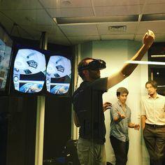An awesome Virtual Reality pic! #oculus #vr #bostonVR #venturecafe #virtualreality #cicnow #kendall #cambridge #tech #augmentedreality #mit @metaglasses @LeapMotion @KaleidoVR  @IntelRealSense @autodesk @3dsystemscorp by otroladod check us out: http://bit.ly/1KyLetq