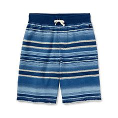 Striped Cotton Terry Short - Boys 2-7 Pants & Shorts - RalphLauren.com