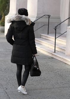 If there's one piece necessary for winter in New York (or anywhere with snow, for that matter), it's a warm coat! Preferably a down coat - t...