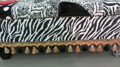 Statement Piece Upholstered Cocktail Ottoman by JohnsonandEaton