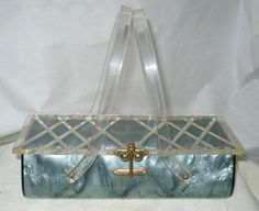 Lucite purse