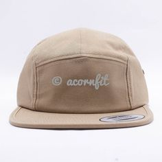 More ideas from Acorn Fit. Wholesale Yupoong 7005 Classic Jockey Camper Hat   Khaki  Five Panel Hat a95f9912d210