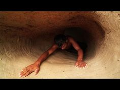 Build The Most Temple Underground House Tunnel Swimming Pool Style Primitive Technology, How To Build, Underground Swimming Pool, Secret Underground House, B. Underground Swimming Pool, Swimming Pools, 1 Story House, Primitive Technology, Pool Fashion, Underground Homes, Water Slides, Natural Living, Life Is Good