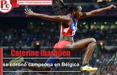 La atleta colombiana ganó en la Liga Diamante 2014 y logró su noveno triunfo de la temporada. Un salto de 14.98 metros, en su último intento, fue la marca que registró para lograr el triunfo en el estadio Rey Balduino de Bruselas, Bélgica, donde se llevó a cabo la última válida de esta competencia.   [http://www.proclamadelcauca.com/2014/09/caterine-ibarguen-se-corono-campeona-en-belgica.html]