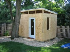 Image on The Owner-Builder Network  http://theownerbuildernetwork.co/easy-diy-projects/diy-outdoor-space-projects/diy-sheds-and-garages/barn-to-modern-studio-shed/