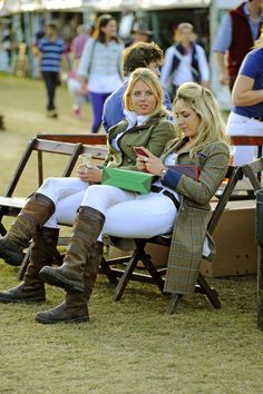 Visit the Country Living Pavilions at Land Rover Burghley Horse Trials Country Attire, Country Wear, Country Outfits, Country Girls, Country Dresses, Country Women, British Country Style, Mode Country, Country Chic