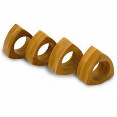 Bamboo Napkin Rings (421180018), Eco Friendly Kitchen Products | Buy Eco  Friendly Kitchen