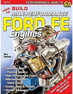 ford 390 fe engine bare block standard bore c4ae6015a thunderbird details about how to build max perf ford fe 352 390 427 428 engine cam crank heads manifolds