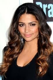 cant wait to get my ombre done this week, then my brazilian blowout! BYE BYE curly fro :D