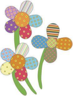 Applique Templates Free, Applique Designs Free, Flower Applique Patterns, Hand Quilting Patterns, Embroidery Designs, Hand Applique, Patchwork Patterns, Applique Quilts, Floral Patterns