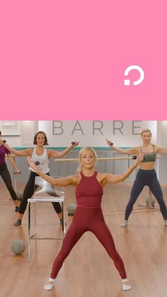 Andrea Rogers has you covered with low impact beginner barre workouts on Openfit! Barre Workout, Health And Wellness, Health Fitness, How To Plan, Get In Shape, No Time For Me, Victoria Secret, Exercise, Gym