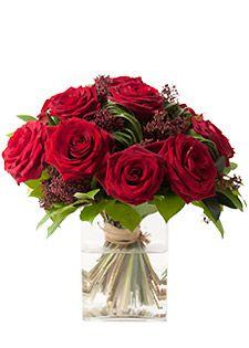 Rose Romantique rose rouge - CAPRI. 1,50€ remboursés sur tout le site #Interflora via #eBuyClub http://www.ebuyclub.com/interflora-512?trckpro=Pinterest_partage