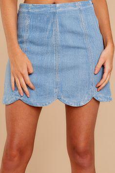 89f513075f794 20 Best Scalloped Skirt images | Dressing up, Fashion women, Mini skirts