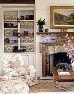 A Beautiful Pecky Cypress Mantelpiece  http://www.housebeautiful.com/decorating/soft-pretty-howard?src=nl=hbu=nl_hbn_dot_non_100412_mountain-home=ist#slide-1