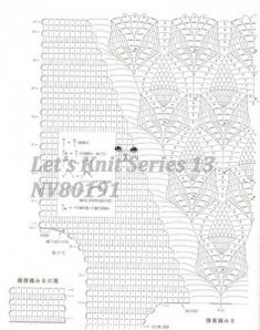 Free diagrams for crochet pineapple stitches! The ultimate resource for creating pineapple stitch crochet for… Crochet Baby Jacket, Crochet Baby Clothes, Crochet Blouse, Crochet Wedding Dress Pattern, Crochet Stitches, Crochet Patterns, Free Crochet, Knit Crochet, Crochet Summer Tops