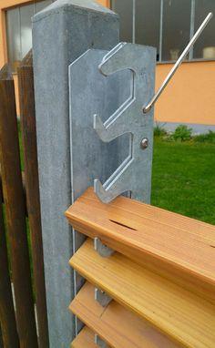 Back Garden Design, Fence Design, Sauna Design, Cladding Systems, Easy Fence, Backyard Buildings, Patio Shade, Portable House, Patio Plants
