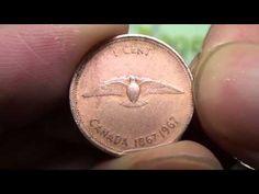 Clean pennies with Vinegar and Salt