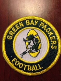 Great Looking Retro Patch,Green Bay Packers #GreenBayPackers