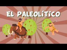 El Paleolítico | Videos Educativos para Niños - YouTube