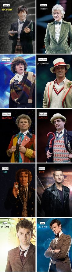 """I marked the passing of the Time Lords."" - The Doctor"