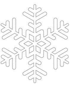 Декорируем подушку снежинками из фетра