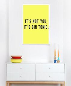 gintonic as Premium Poster