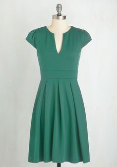 Meet Me at the Punch Bowl Dress in Jade, @ModCloth