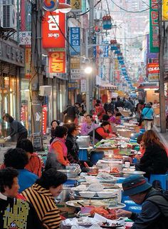 Moveable Feast, Seoul, Korea