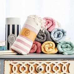 The Turkish beach towels are the perfect towel for your needs, whether you're spending the day on the beach or having a picnic in the park. These stylish towels come in different sizes and colors, so there's always one that fits the personality of everyone in your family. Check them out in the store today!